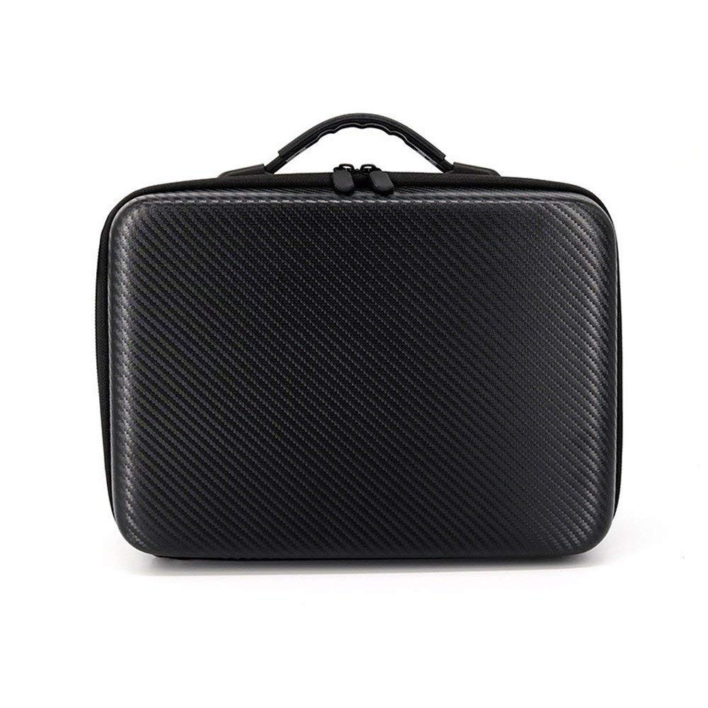 for DJI Tello Drone New Shoulder Bag Case Protector PU+EVA Internal Waterproof (Black)
