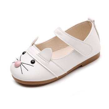 4c67149cba53 Cartoon cute mouse baby gril sandals shoes soft flat shoes PU leather baby  shoes