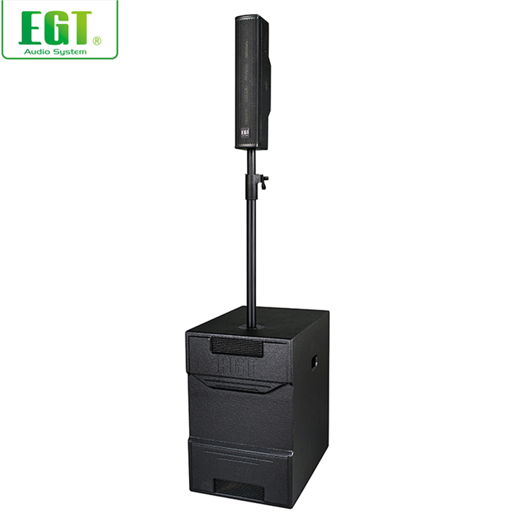 New arrival professional full range amplifier DSP amplifier dsp column subwoofer system
