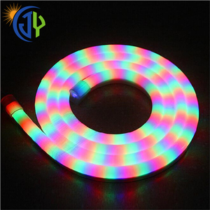 Neon Silicone Strip Dc12v 24V Led Neon Flex 6mm 8mm Rainbow Ring Love Style neon led light