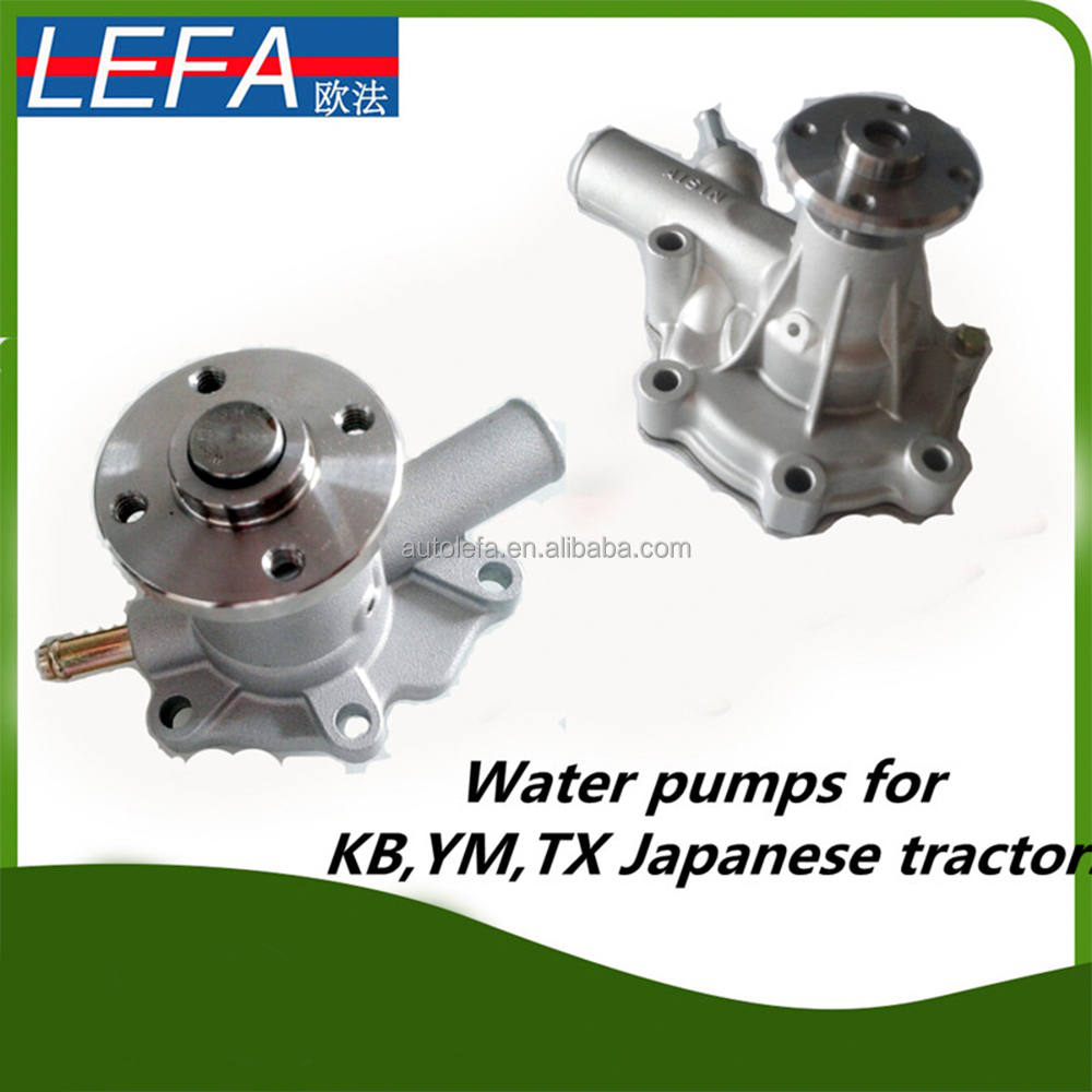 Kubota tractor spare parts farming water pump for MT1801