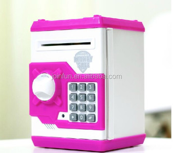 Banknote Safety Box Saving Bank Creative Safe Shape Piggy Coin Cashbox View Oem Product Details