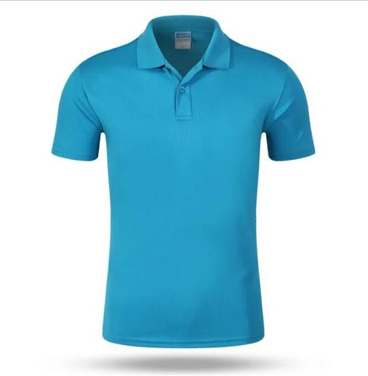 Custom droge fit 100% polyester spandex heren polo golf t-shirt