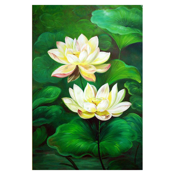Latest Style Lotus Flower Oil Painting For Wholesale Buy Lotus