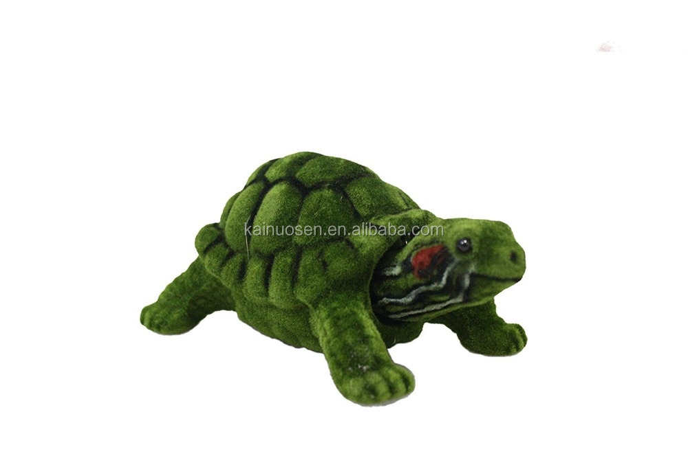 Personalized Handmade Color Painted Resin Turtle Bobble Head