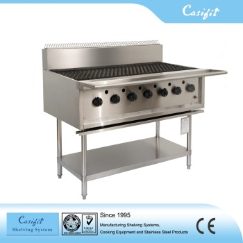 Commercial Kitchen Equipment Stainless Steel Gas Bbq Grill Machine 7 ...