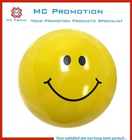 Smily Inflatable Small Beach Balls