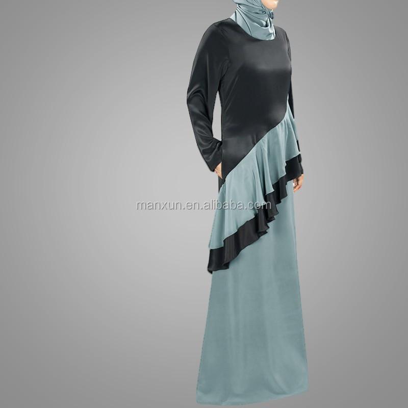 ea0a028e78 Muslim Women Ladies Abaya Fashional Flounced Maxi Skirt - Buy Muslim ...