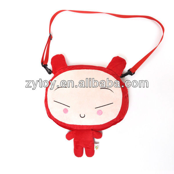 Shenzhen Manufacturer wholesale plush animal backpack bag
