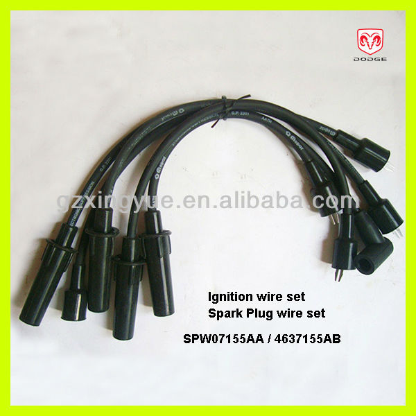 Spw07155aa 4637155ab Ignition Cable Spark Plug Wire Set For Dodge Caravan on