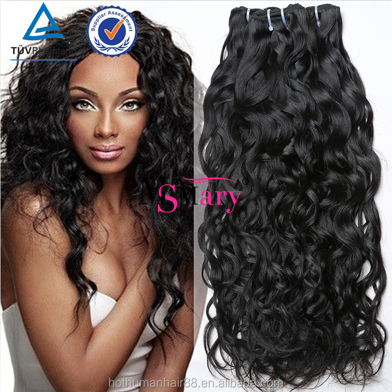 Free Shipping Wholeasale Virgin Brazilian Deep Wave Hair Unprocessed Virgin Human Hair Extensions Water Wave 3 Bundles