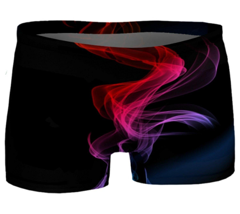 30168d9463 Eco Friendly Workout Shorts Night Trails Yoga Shorts Printed Gym Shorts  Boho Artwear Custom Print Yoga