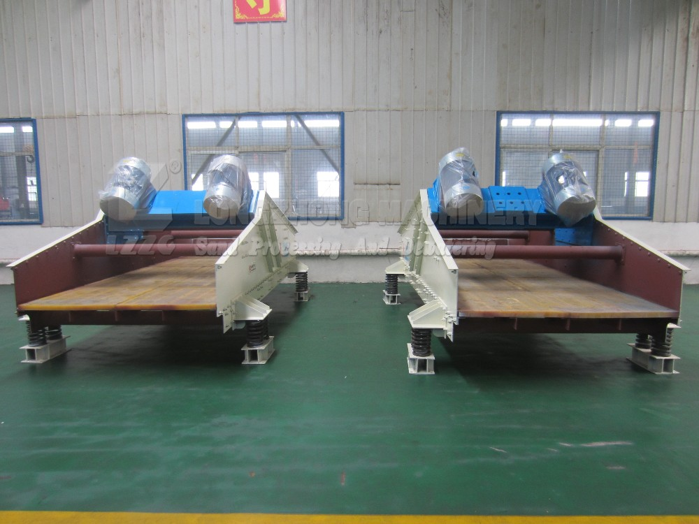 Customized 1020 double layers dewatering sieve export to Australia