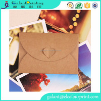 Lovely Envelopes Set Letter Stationary Kraft Paper