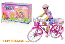 Battery operated miniature bicycle toy for kids BZH114455