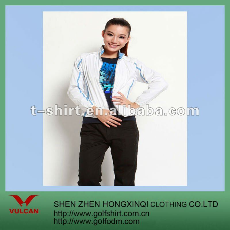 Woven Polyester Fabric Blazers For Women 2012