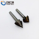 CNC router bits/carbide end mills/3D V shape milling cutters/woodworking bits