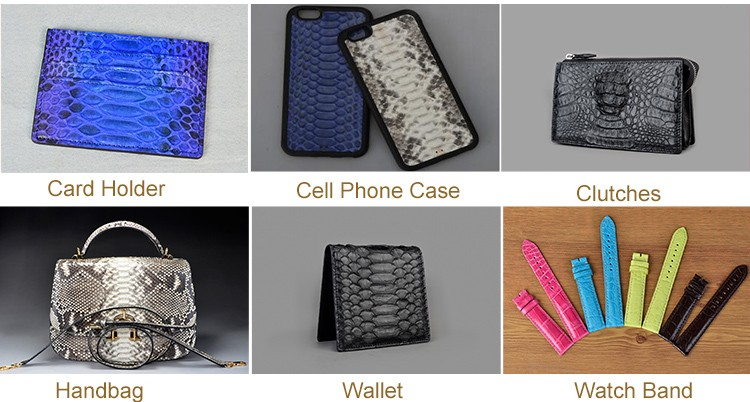 Wholesale Top Quality Genuine Python Snakeskin Leather Cell Phone Case