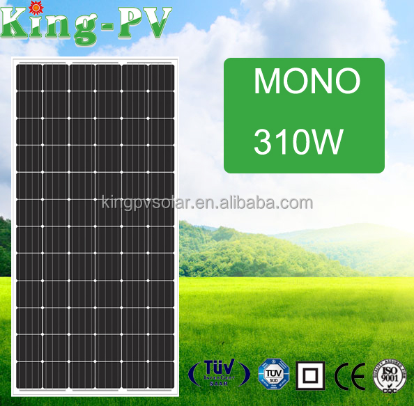 the top sunpower solar panel mono solar module 310W solar panel