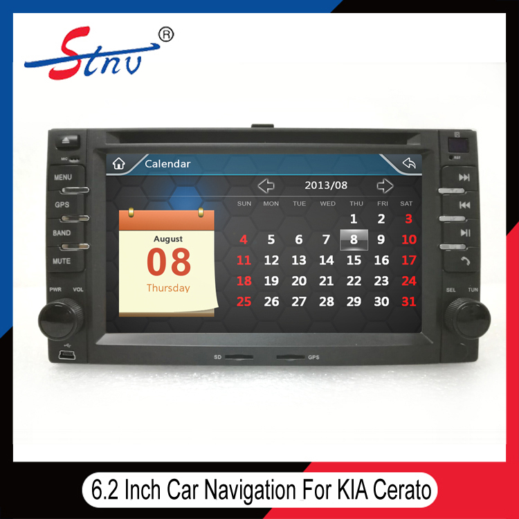 6.2 Inch Auto Navigation For Cerato With Romania Map
