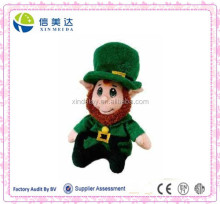 "Plush 8"" Lucky Leprechaun Soft Stuffed Elf Toy"