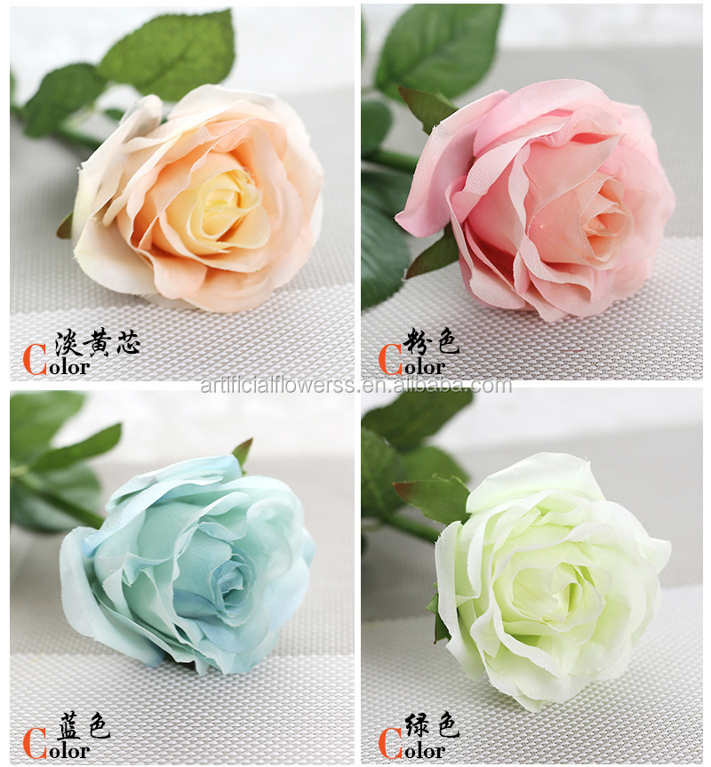 Artificial Rose flower for wedding decoration