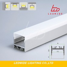 Led Linear Linkable Lighting Aluminum Extrusion 25.4Mm Depth Base Alu Profile With 31Mm Tape 3528 Or 5050