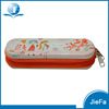 Stationery promotional pencil tin case zipper metal pencil case