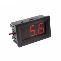 Digital DC 0-100V 100V Voltmeter Voltage Volt meter DC three wire 0.56 inch red blue green VD58
