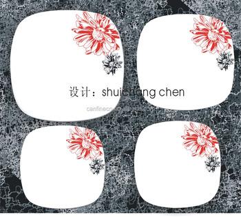 Mooi Servies Set.Huishoudelijke Vierkante Porseleinen Borden Set Russisch Mooie Bloem Porseleinen Huishoudelijke Artikelen Servies Set Buy Vierkante Borden