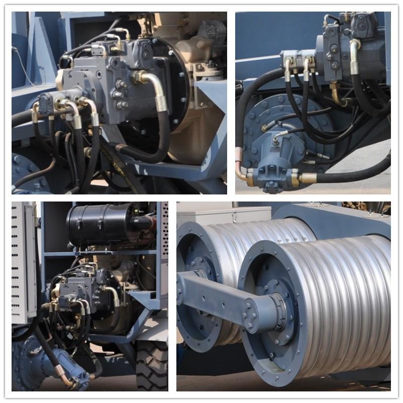 ty-90 hydraulische trekkabel machines