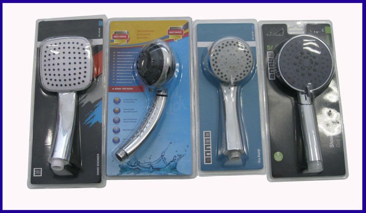 Water Saving Shower Heads, Shower Head Feature and Chrome Surface Finishing hand shower head