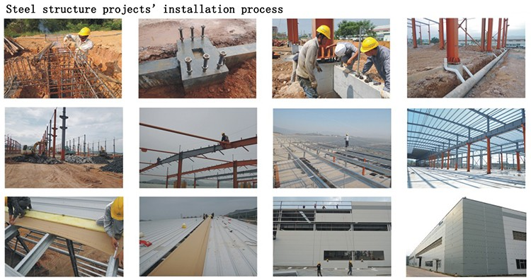 Multiple Storey Commercial Prefabricated Steel Structure Building