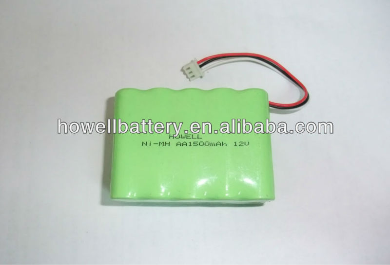 Rechargeable Nimh Battery AA 12v with 1500mAh