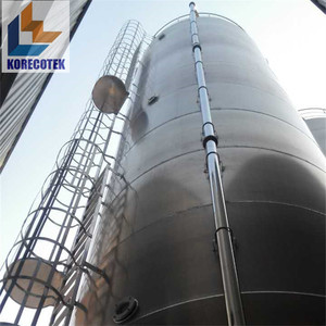 Up to 1000CBM Stainless Steel Bulk Containers Storage Silos
