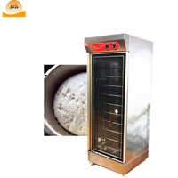 Single Door 12 trays stainless steel fermentation tank | price of bread ferment proofer box
