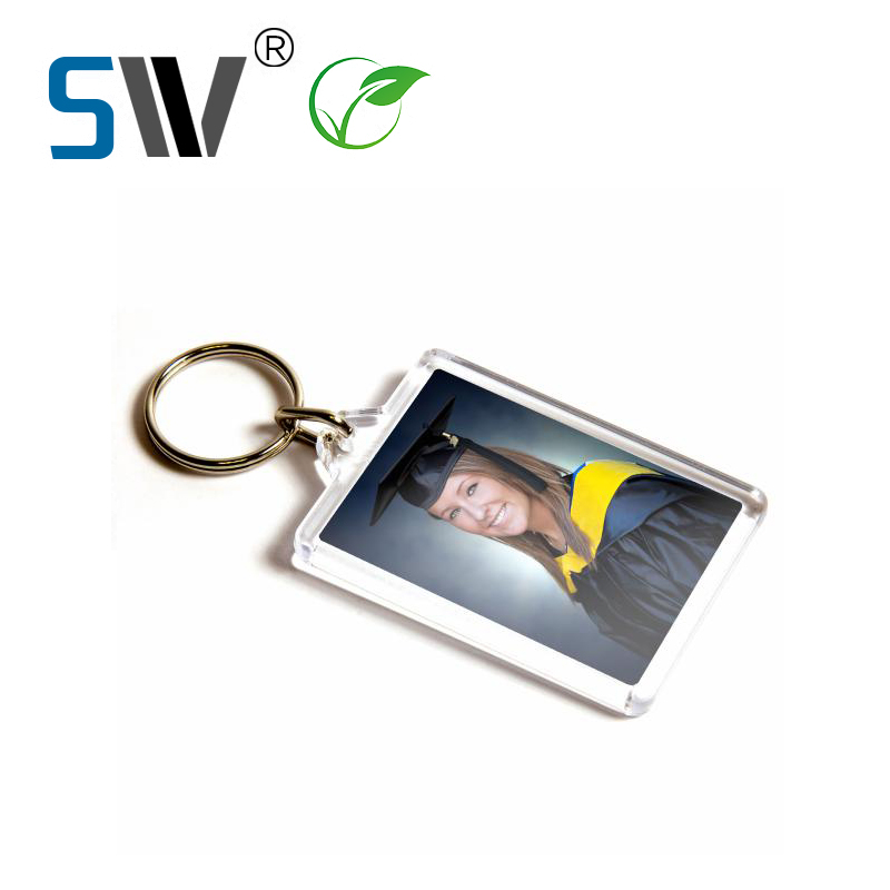 Acrylic Picture Frame Keychain, Acrylic Picture Frame Keychain ...