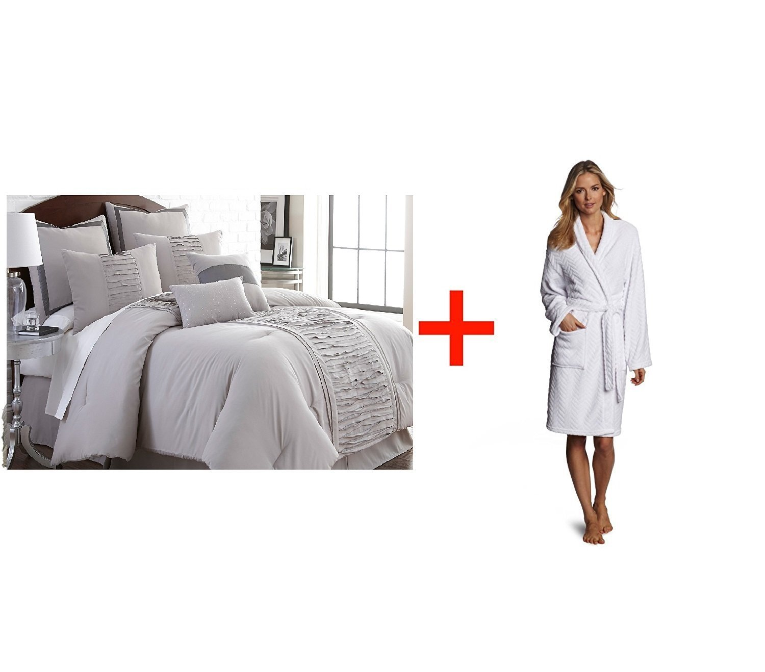 Buy Bed Linens. This Colormate Full Size Complete Bed 8-pc ...