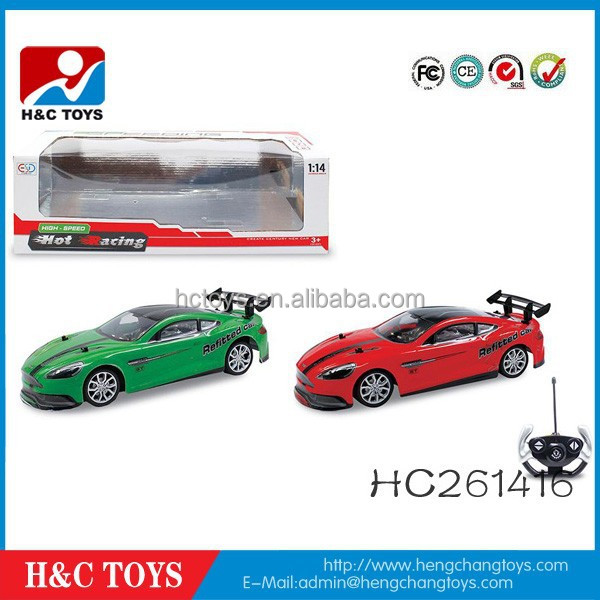 1:14 remote control 5 channel high speed racing car HC261416