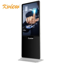 55 inch floor standing lcd touch lcd screen advertising display digital signage media player