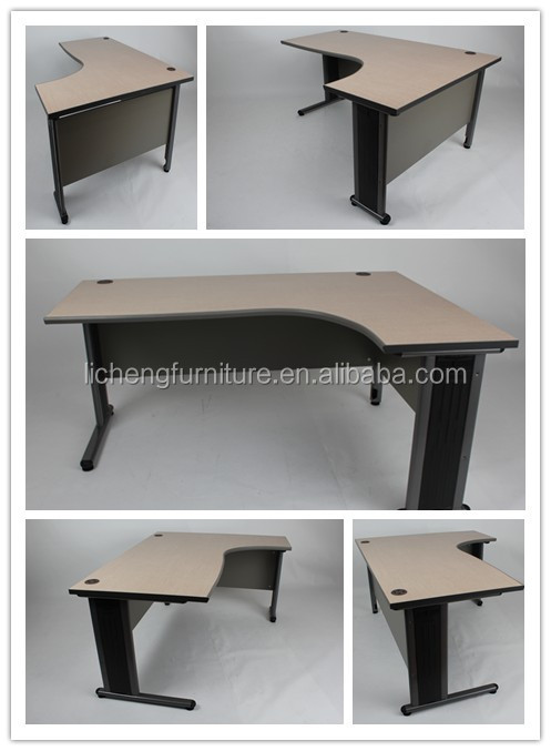 Wooden Office L Shaped Design Computer Desks/modern Office Table