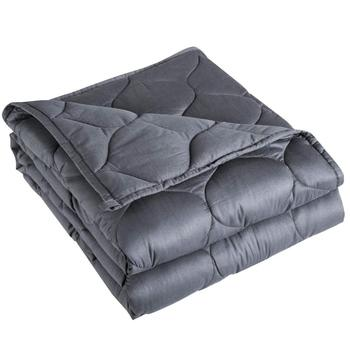 100% Cotton Material with Glass Beads weighted blanket for sleep