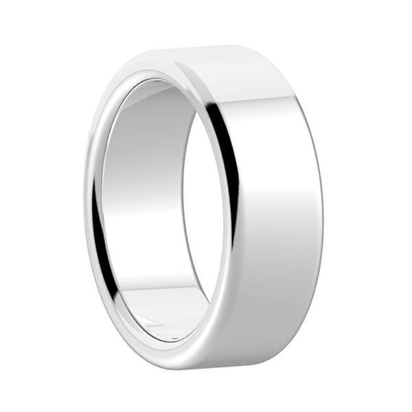 Simple Design Finger Rings Cobalt Chrome Engagement Ring Polished