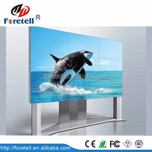 46 inch Super slim LCD video wall Ultra narrow splicing screen