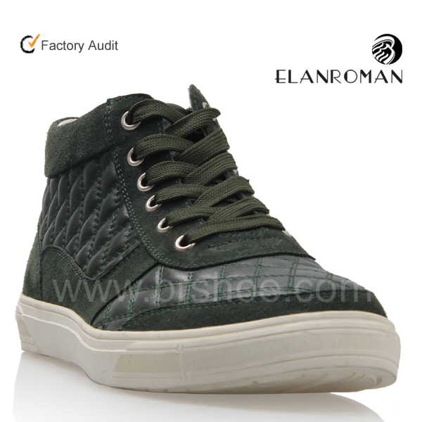 Shoes OEM Sneakers Men High Ankle for High Fashion Lace Up amp; ODM Wholesale Quality 2018 Casual Borong wpTHRR
