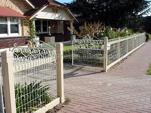 Ornamental Galvanized Garden Woven Wire Fence - Buy Garden Woven ...