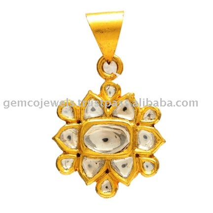 Gold Jewelry, Rose Cut Diamond Pendant Jewelry, Wholesale Supplier Gold & High Quality Diamond Pendant Jewelry
