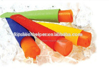 hot sell on Amazon Plastic Popsicle Mould Factory silicone ice cream stick