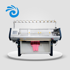 Automatic efficient 7G 52inch computerized shaoxing flat knitting machine