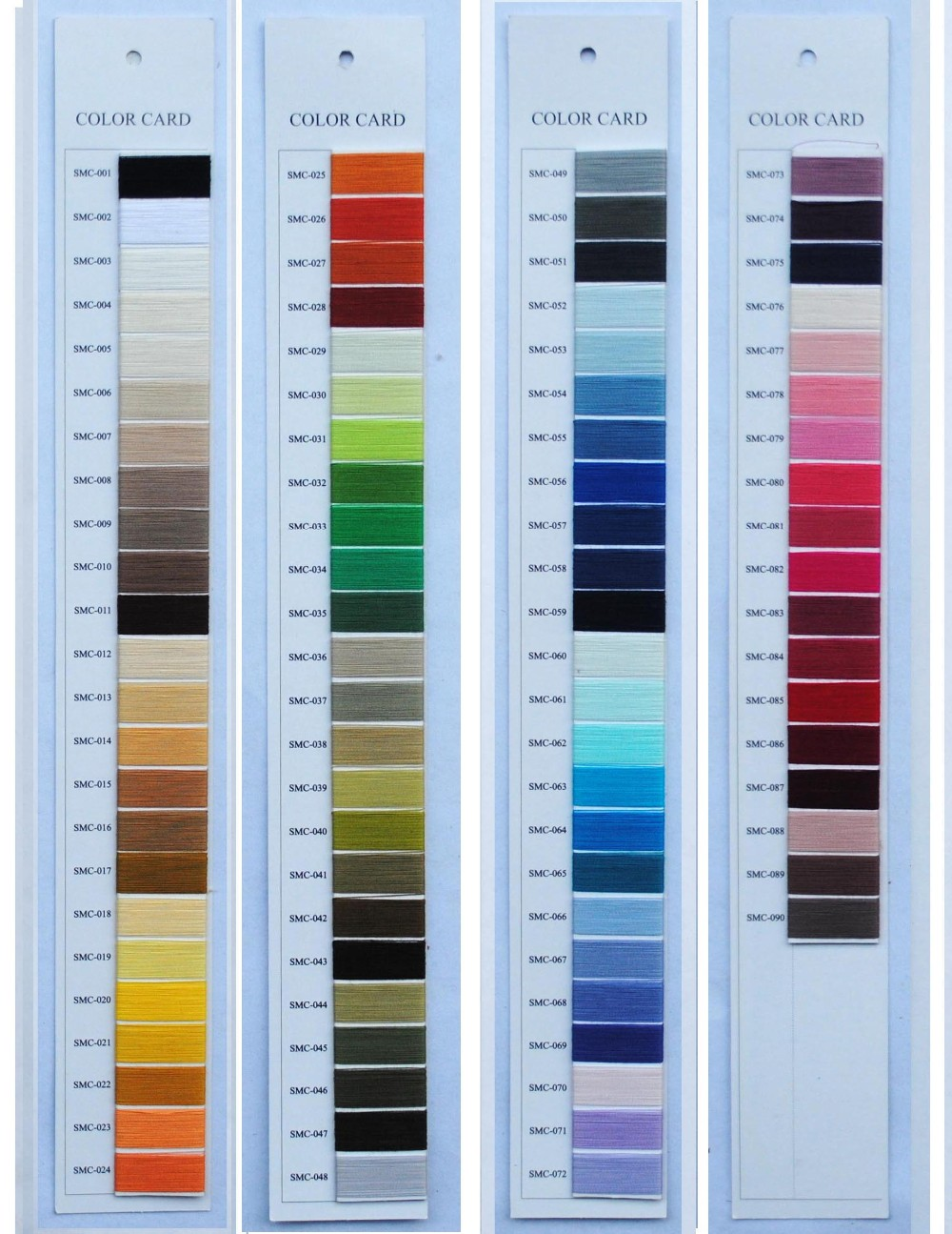 Simthread polyester shade card for embroidery threadmercerized simthread polyester shade card for embroidery threadmercerized cotton thread chart nvjuhfo Images